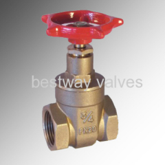 brass forged gate valves