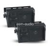 4Inch 200 Watt 3-Way Mini Box Speaker System