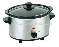 Stainless Steel Slow Cookers