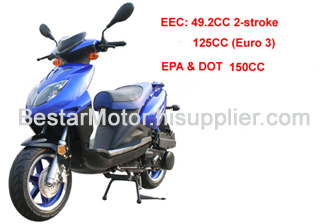 50CC Gas Scooter from China manufacturer - Ningbo Bestar Co ,Ltd