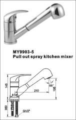 pull out mixer