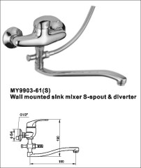 wall mounted faucets tap