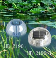 플라스틱 태양 부동 램프