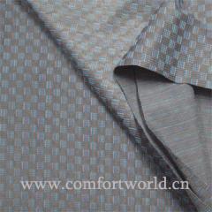 Jacquard Printed Silk Fabric