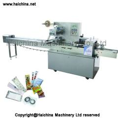 high speed flow wrapping machine