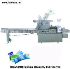 wet tissues packaging machine