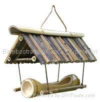 Bamboo Birdfeeder (bird house)