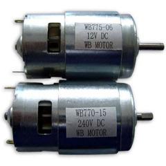 DC Motor WB77 series 6-36 VDC