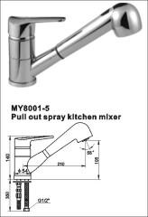 pull kitchen mixer
