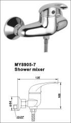 brass shower taps