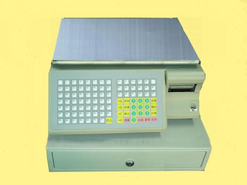 Cash register scale