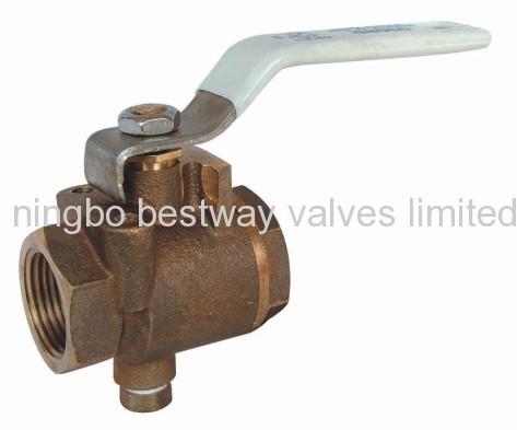 brass drain ball valve