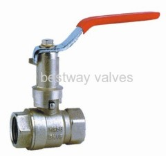 lock ball valves