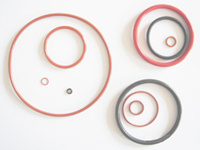 UV stable silicone rubber orings for lamp