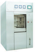 Mechanized door pulsant vacuum sterilizer