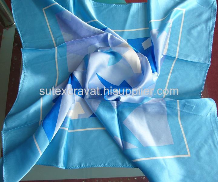 Silk Printing Scarf