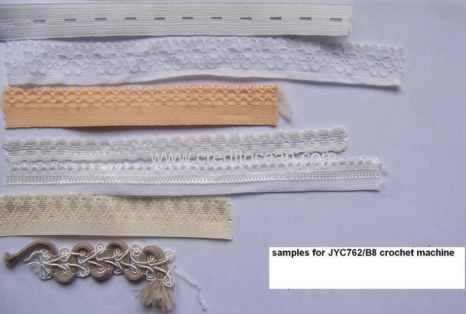 crochet machine product sample