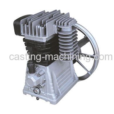 sand casting Alloy aluminium air compressor spare parts