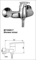 shower column steel
