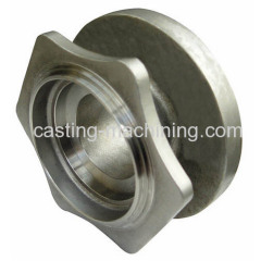 stainless steel investment casting wheel casters