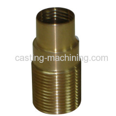 custom copper casting mechanical car engine parts