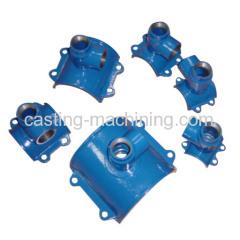 custom sand casting steel hydraulic pipe fittings