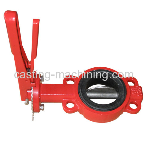 carbon steel lug type butterfly valve