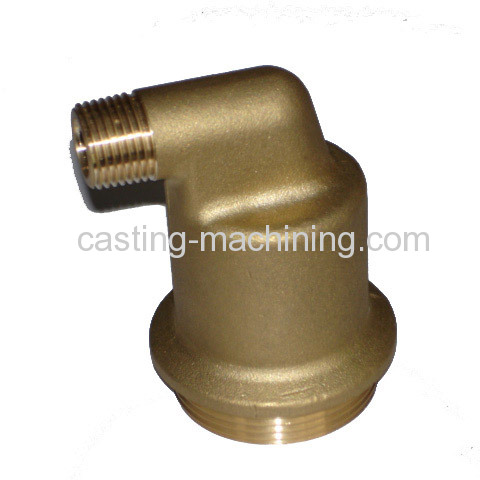 copper alloy casting Pipe fitting