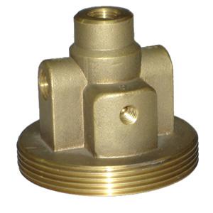 Custom copper casting precision pneumatic pipe fittings