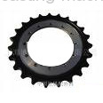 precision worm and wheel gear