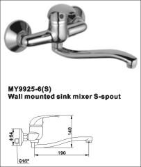 wall mount pot rack mixer tap