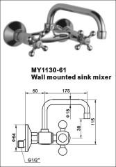 brass modern tap