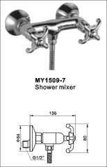 wall mounted mixer taps