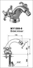 double handle bidet mixer