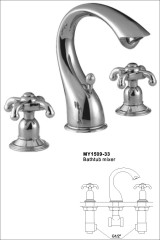 wall and hand shower fixture
