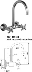 Wall mounted sink faucets tap