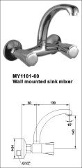 wall mounted water taps