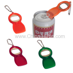 Plastic Bottle Opener Key Chain