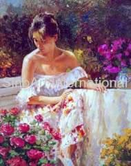 Impressionism Figure Oil Painting