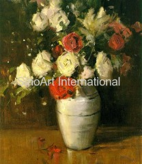 Impressionism Floral Oil Painting