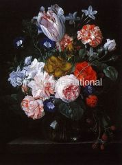 Classic Floral Oil Painting