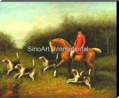Sport Oil Painting