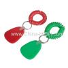 Spiral Wrist Cord Keychain