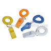 Plastic Whistle Key Chain