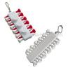 Plastic Golf Tee Key Chain