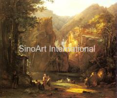 Classic Landscape Oil Painting