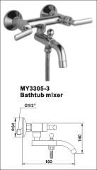 shower slider set mixer