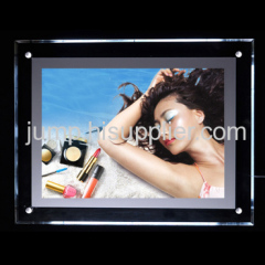 crystal frame light box
