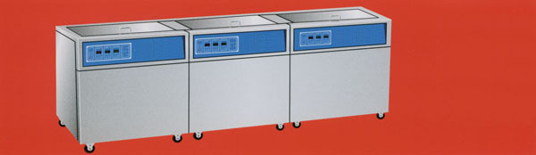 Three-tank Ultrasonic Cleaner