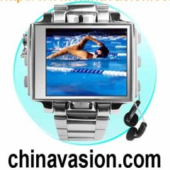 Ultimate Style 4GB Steel MP4 Watch - 1.8''